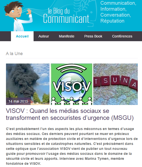 Le blog du communicant VISOV