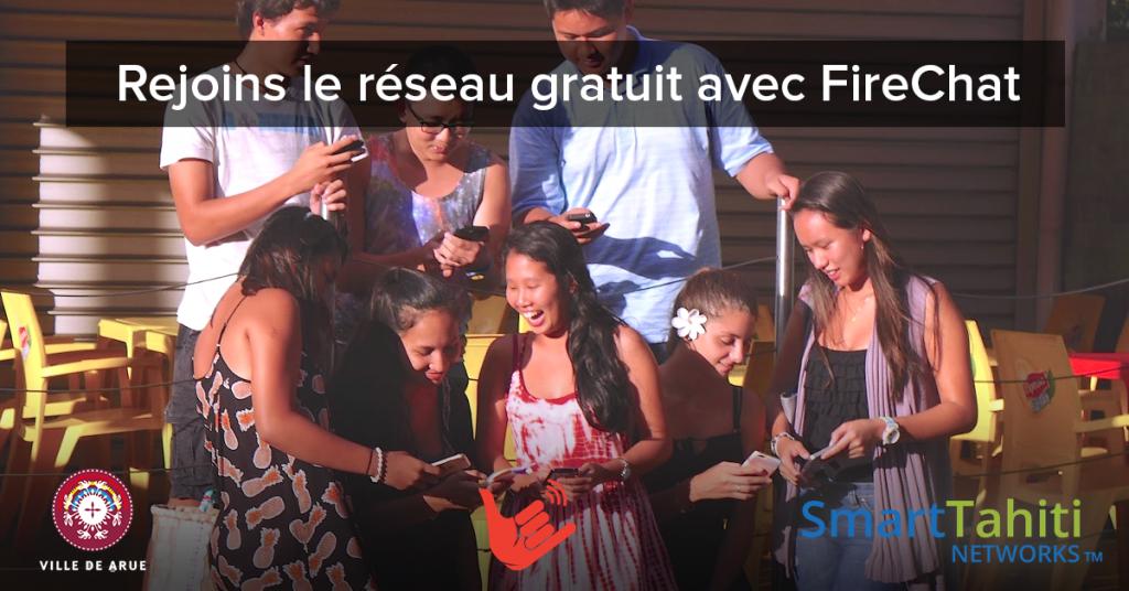 FireChat Tahiti Groupe Citoyen