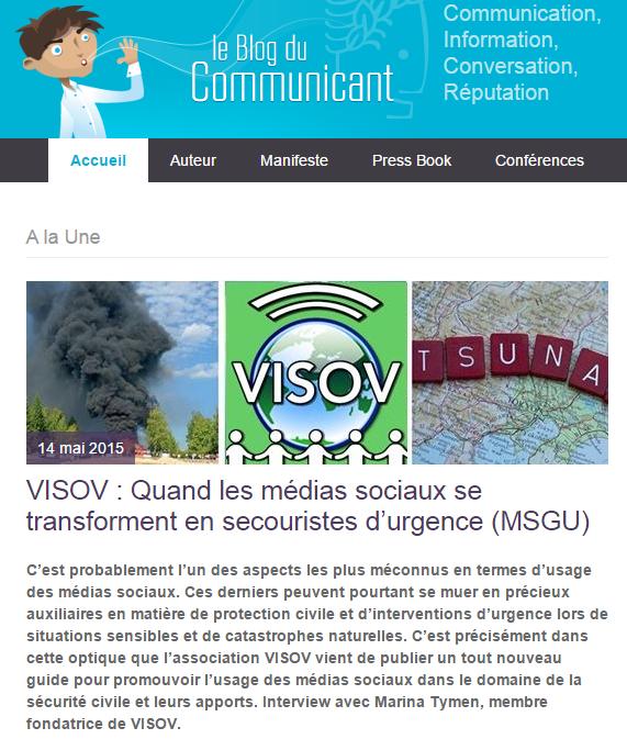 Le blog du communicant VISOV